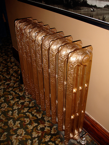 how to fix a cold radiator