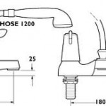 installing a bath shower mixer
