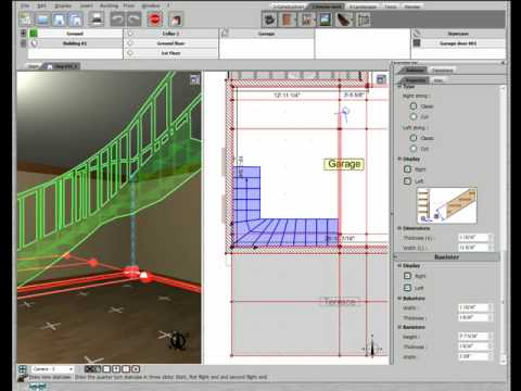 Designing A Staircase and Landing