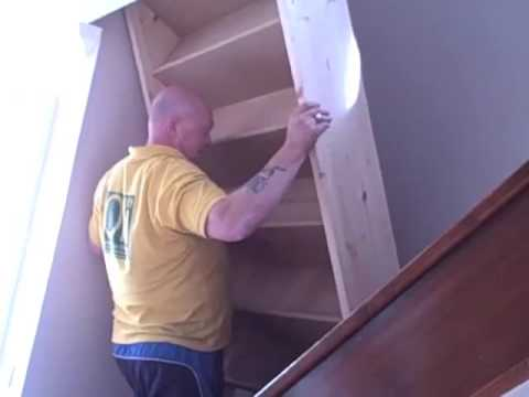Repositioning a staircase