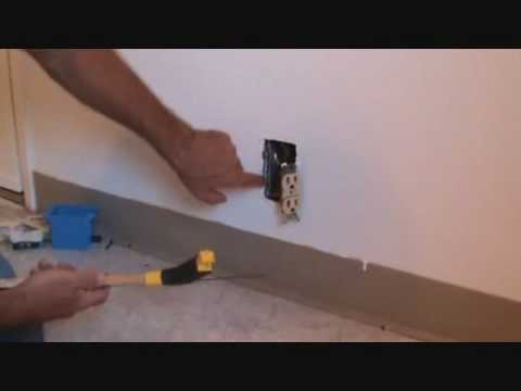 Moving and adding electrical sockets
