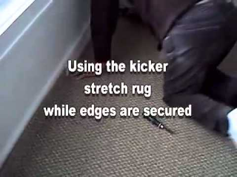 DIY Carpet Laying