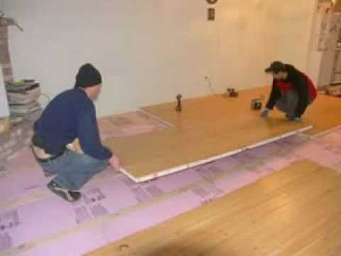 insulating concrete floors