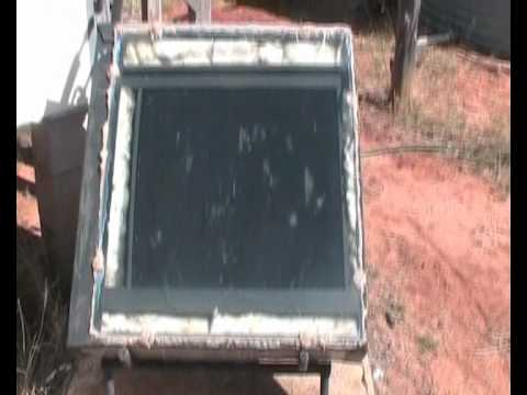Building Efficient Solar Panels For A Solar Water Heating System
