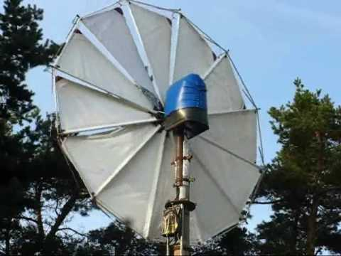 DIY Wind Turbines — Size And Power
