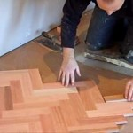 Laying Wood Block Flooring