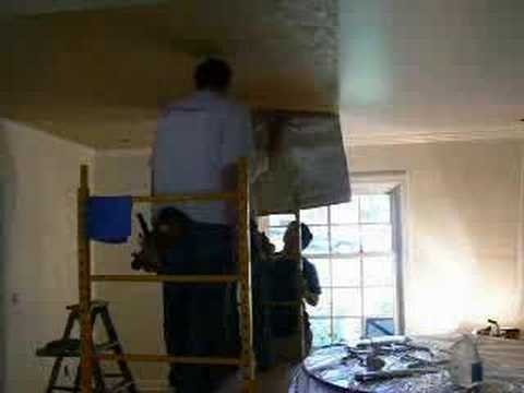 How To Wallpaper A Ceiling Without Breaking Your Neck