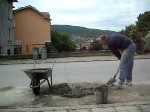Mixing And Using Cement