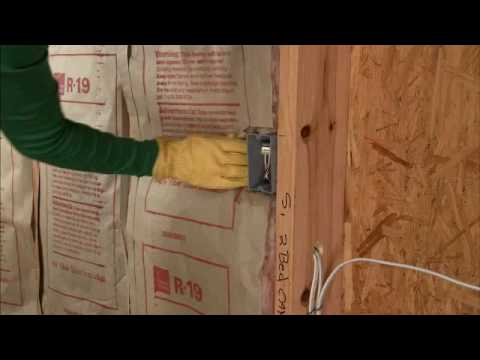 Insulating solid walls from the inside