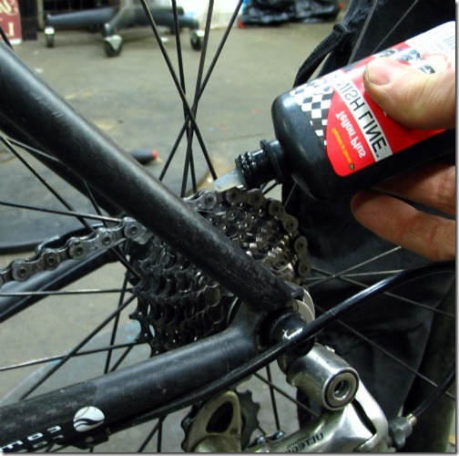 Lubricating Bicycles