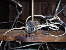... Gas Lighting. Old Wiring