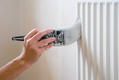 Painting a Radiator
