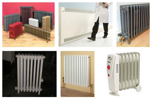 types of radiator