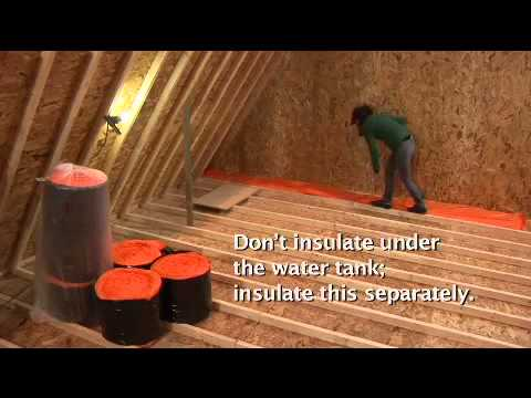 Best Methods Of Installing Loft Insulation