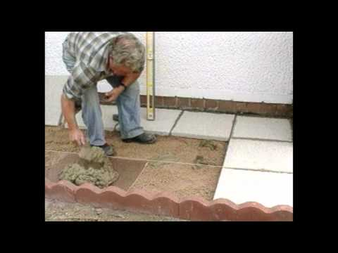 How Lay Paving Slabs