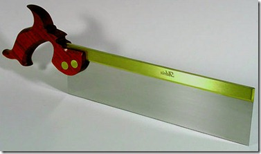 fine-toothed tenon saw