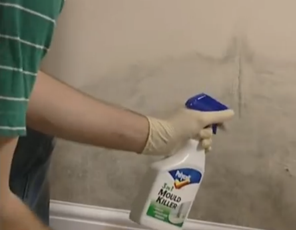 Cleaning Walls and ceilings